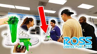 RETURNING MY SNEAKERS TO ROSS AFTER SLIME!! **MANAGER AND SECURITY CALLED**