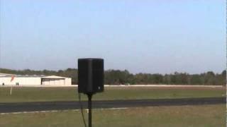 Glory Days Jet Dragster vs. L-39 Jet Plane at Tico Warbird Airshow Titusville, FL
