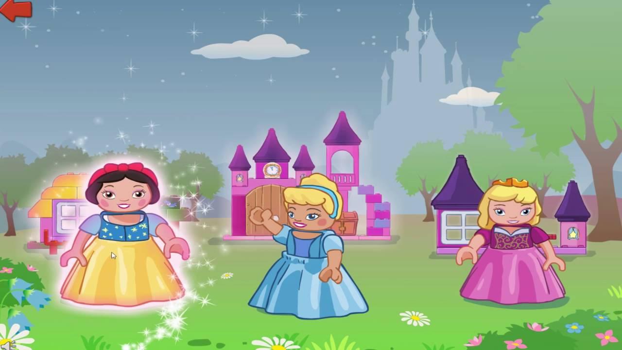 Мультик Лего Принцессы для девочек. Конструктор Лего ...