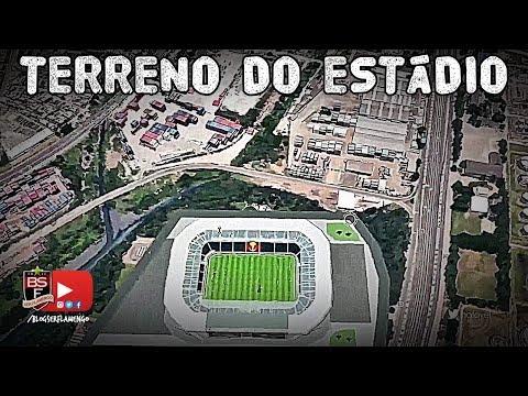 Informações atualizadas sobre o terreno do estádio do Flamengo