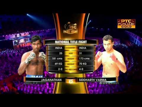 Jaganathan V/s Siddharth Varma | Pro Boxing League | Fight Night | Part 4