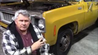 1973 Chevy dump truck brakes (fail)