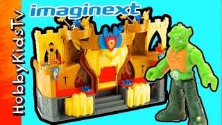 Imaginext Lions Den Castle! Box Open HobbyDad Toy Review By HobbyKidsTV