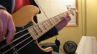 Nirvana - Lounge Act Bass cover