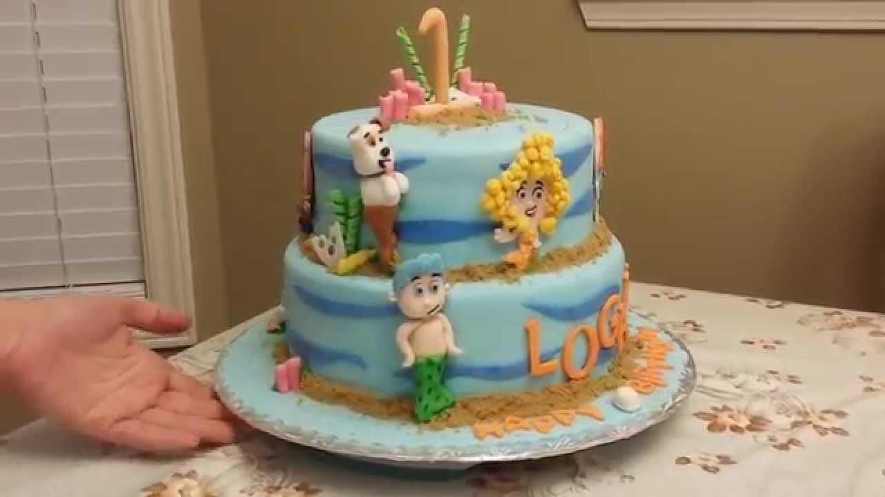 Guppies Bubble Cake