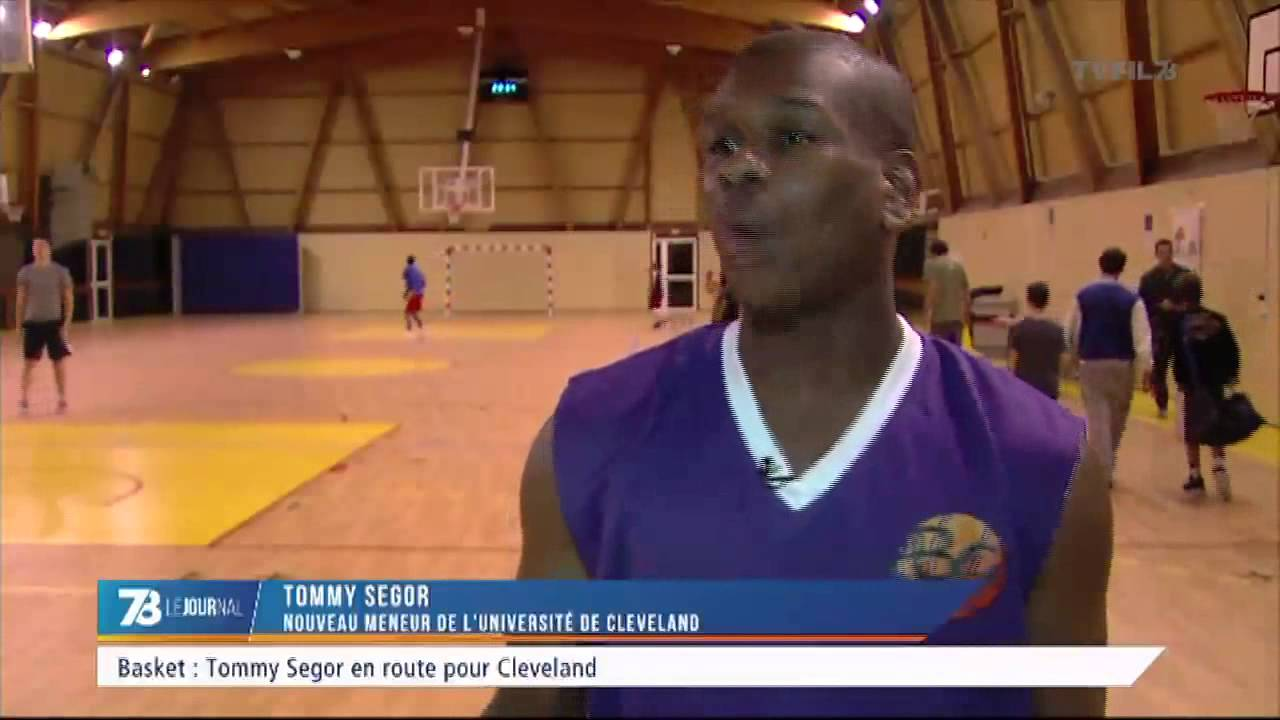 Basket : l'Yvelinois Tommy Segor en route pour Cleveland