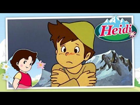 Heidi - Episodio 9 - Los alpes nevados