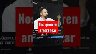 👉S. O. S quieren amordazar a los españoles