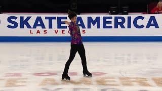 Нэтан Чен. Произвольная программа. Мужчины. Skate America. Гран-при по фигурному катанию 2019/20
