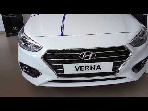 Hyundai Verna Sun Roof Variant Exterior And Interior