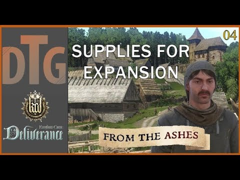 Kingdom Come Deliverance: From the Ashes Part 04   Henry Goes Shopping for Supplies  