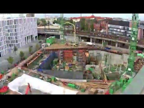 Haus Der Zukunft Berlin   Der Baustellen Zeitraffer