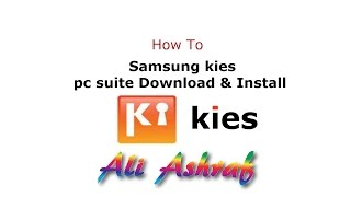 How To Samsung kies pc suite update Download