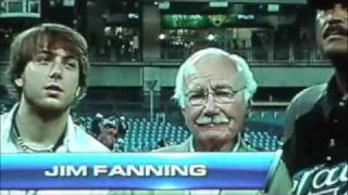 Jim Fanning honored for 60 YEARS in MLB @ The Rogers Centre