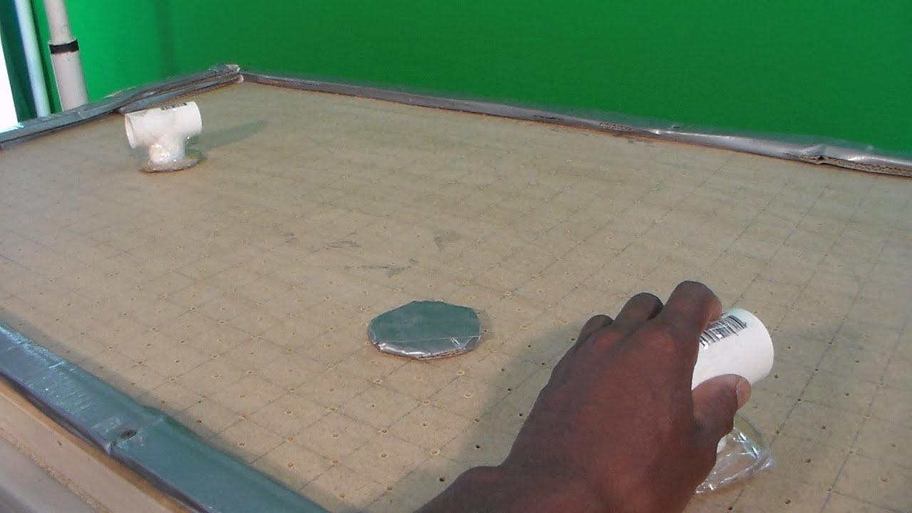 How To Make A Mini Air Hockey Table Part 1