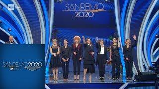 Sanremo 2020 - Sette artiste contro la violenza sulle donne