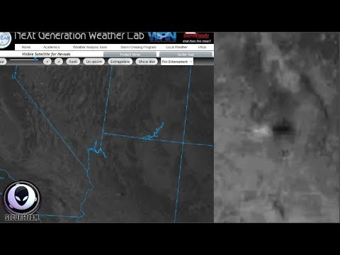 MYSTERY UFO Speeds By Weather Satellite 10/21/17