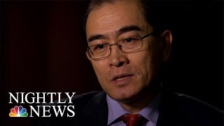 Thae Yong-ho, Former North Korean Diplomat, Talks About Defection | NBC Nightly News