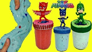 D.I.Y. Do It Yourself PJ MASKS Slime Putty, Kid Craft Owlette, Catboy, Gekko Orbeez, Glitter / TUYC