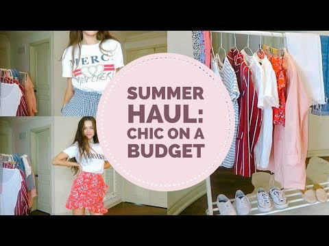 Get Summer Haul | Chic On A Budget Tips: Zara/ Forever 21/ TopShop Images
