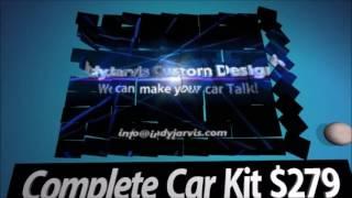 IndyJarvis Custom Designs- Make your car Talk!