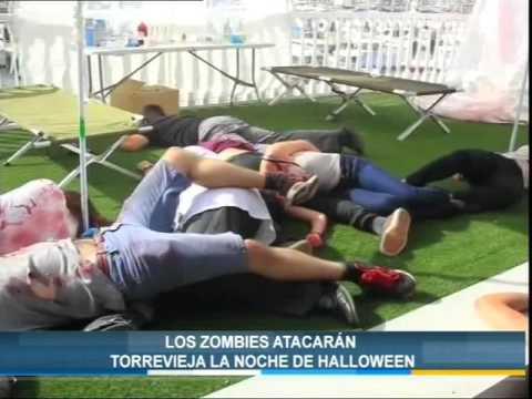 Los zombies atacarán Torrevieja la noche de Halloween