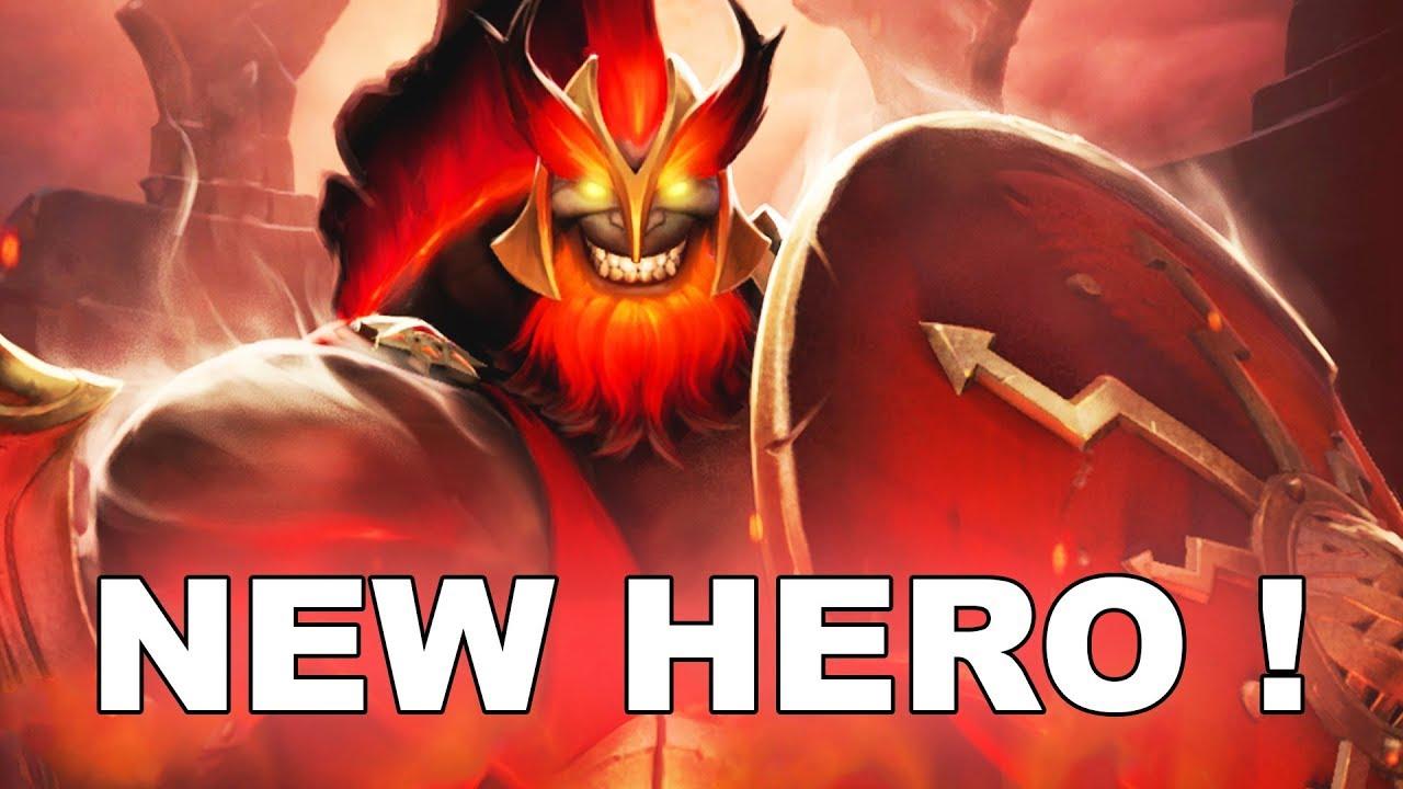 Dota 2 New Hero Mars