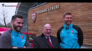 He's a gooner through and through, we thought we'd give him little surprise. massive good luck to david as he battles non-hodgkin's lymphoma. we're a...