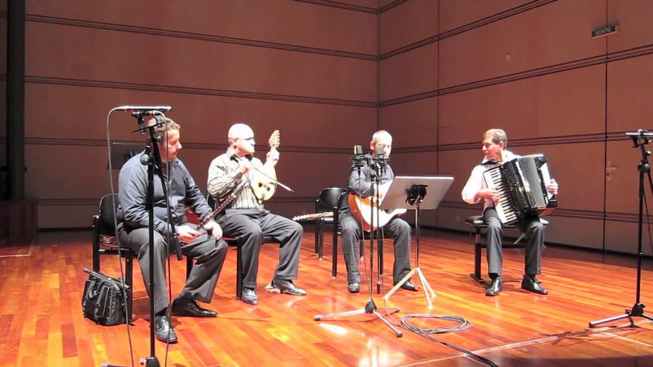 Petar Ralchev Quartet - 01. Чолаково хоро - YouTube