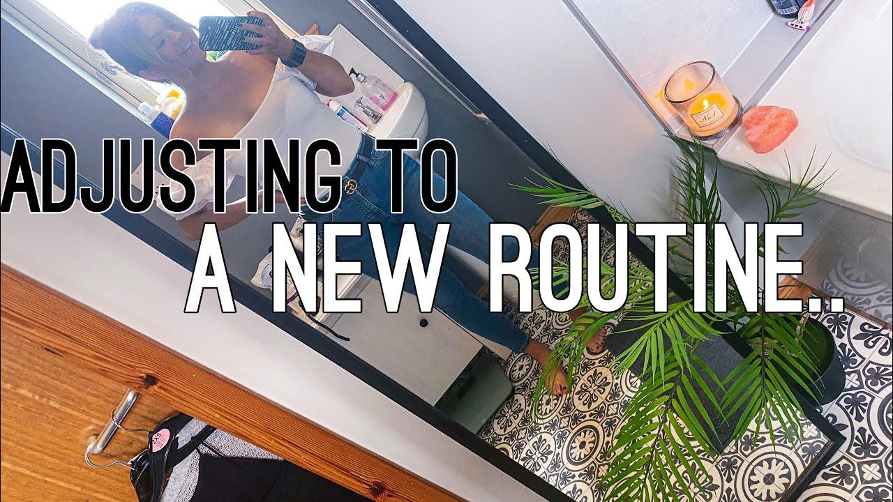 ADJUSTING TO A NEW ROUTINE!  | HARRIET MILLS