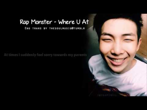 [ENG LYRICS] Rap Monster - Where U At Claire CvCoats