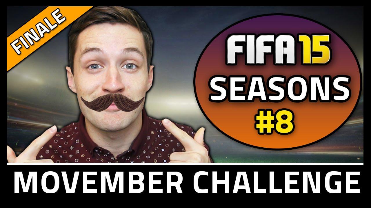 MOVEMBER CHALLENGE FINALE! #8 - Fifa 15 Seasons