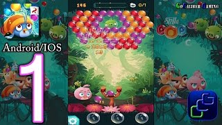 ANGRY BIRDS Stella POP Android iOS Walkthrough - Gameplay Part 1 - Area 1: Levels 1-5