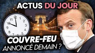 Couvre-feu possible en France, Veolia, Trump reprend la campagne... Actus du jour
