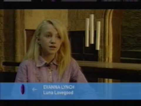 Evanna Lynch Luna Lovegood  First