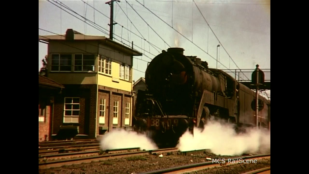 NSWGR 38 Class in the Late 1960's