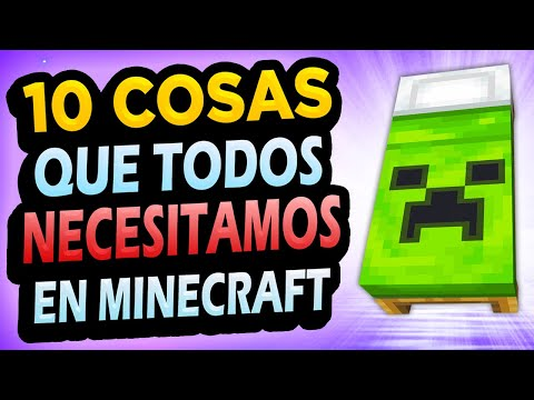 ✅ 10 Cosas Que Mejorarían Minecraft!! #3