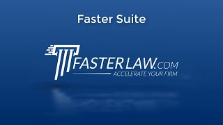 Faster Suite Promo