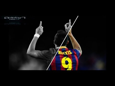 Alexis Sanchez | All Goals For Barcelona | 2011-14 | HD