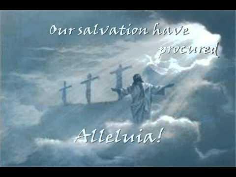Jesus Christ is Risen Today!  Alleluia!  Presentation by Jackson B, age 8