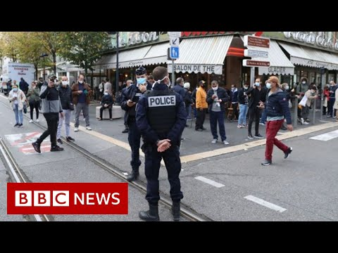 Three stabbed to death in France 'terror attack' - BBC News