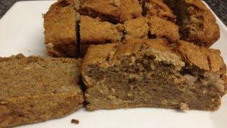Healthy Apple & Banana Bread Recipe - Super Easy! - Weight Watchers - 2 Per Slice