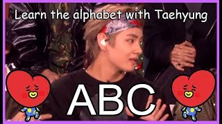 LEARN THE ALPHABET WITH BTS' TAEHYUNG