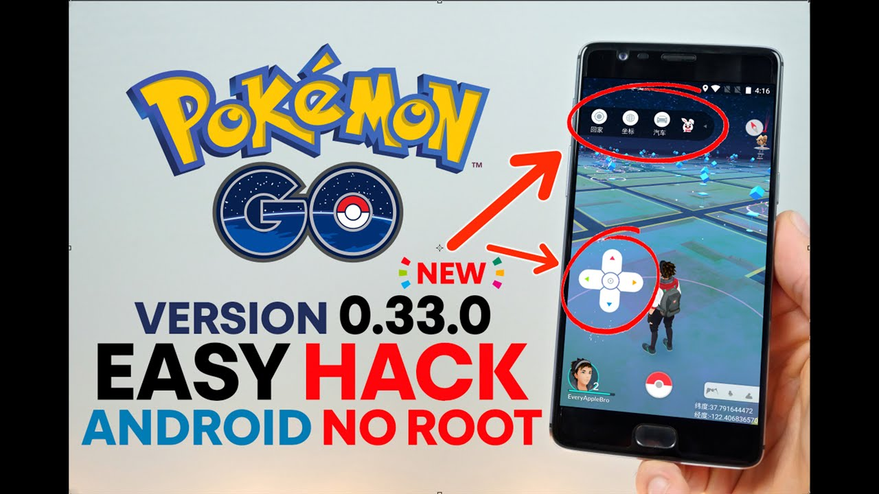 hacked pokemon go apk no root