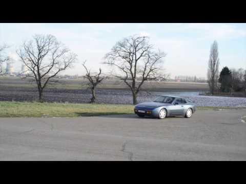911 youngtimer   Porsche 944 S2   Dansk sport exhaust