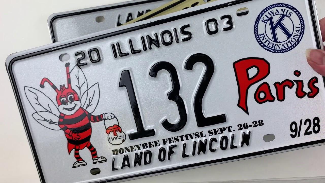 Honeybee License Plate