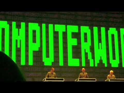 Kraftwerk - Computer World @ The State Kremlin Palace (Moscow) 13-02-2018
