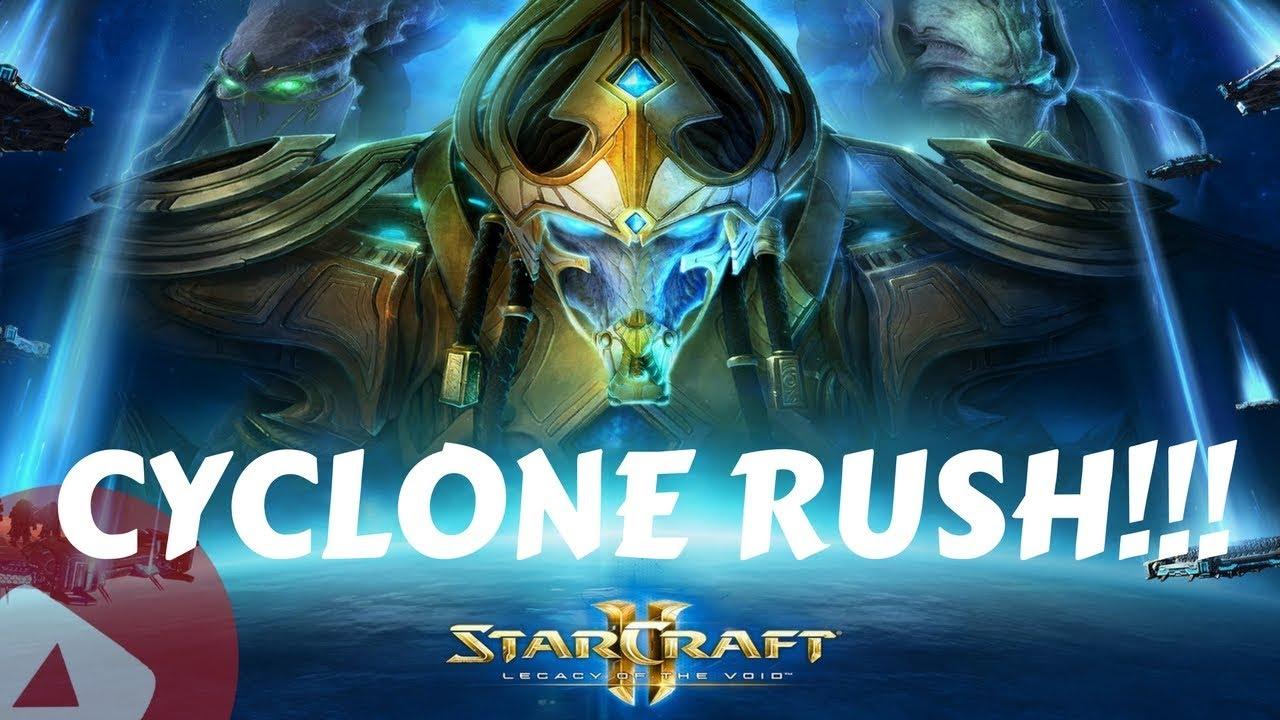 StarCraft 2 CYCLONE RUSH 2018!!! 1v1