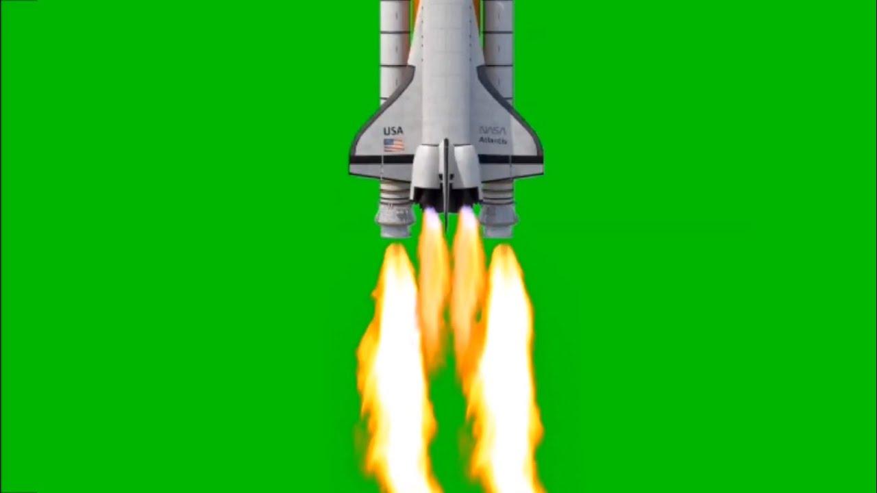 Green Screen Rocket Launcher