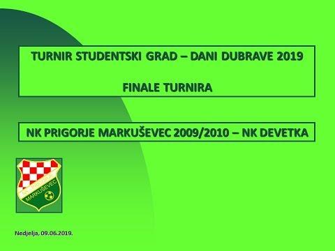 Turnir Studentski grad Finale NK Prigorje Markuševec 2 : 1 NK Devetka